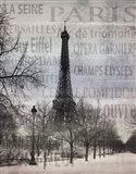 Paris II Art Print
