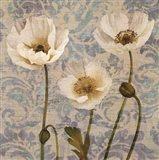Damask Blooms V Art Print