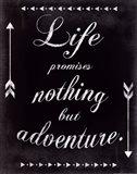 Only Adventure Art Print