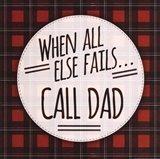 Call Dad Art Print
