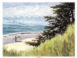 Seacliff Beach Art Print