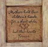 Mothers Hold Art Print