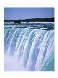 Water flowing over Niagara Falls, Ontario, Canada Art Print