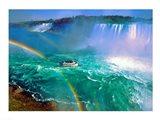 Horseshoe Falls Niagara Falls Ontario, Canada Art Print