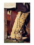 Cowboy's hand made boots Art Print