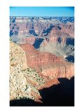 Colorful View of the Grand Canyon Art Print