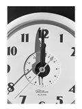 Face clock showing 12 o'clock, close-up Art Print