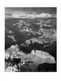Grand Canyon with Clouds Art Print