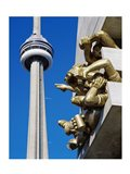 CN Tower, Toronto, Ontario, Canada Art Print
