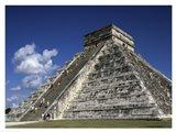 El Castillo Pyramid Art Print