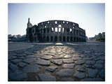 View of an old ruin, Colosseum, Rome, Italy Art Print
