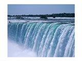 Close-up of a waterfall, Niagara Falls, Ontario, Canada Art Print