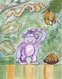 Jungle Boogie - Chimp Art Print
