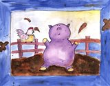 Pig Pen Art Print