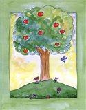 Apple Tree Hill Art Print