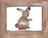 Vintage Rabbit Art Print