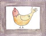 Vintage Chicken Art Print