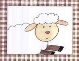 Here's Looking at You - Sheep Art Print