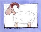 Little Ram Art Print