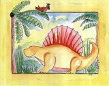 Dimetrodon Chillin Art Print