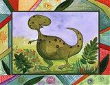 Baby Dino Mytes - Tank Art Print