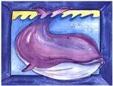 Big One - Whale Art Print