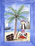Treasure Ahoy Art Print