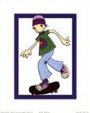 Skater Guy Art Print