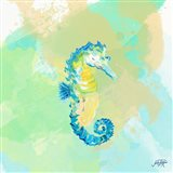 Watercolor Sea Creatures III Art Print