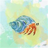 Watercolor Sea Creatures II Art Print