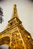 Glittery Paris Art Print