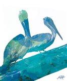 Watercolor Pelican II Art Print