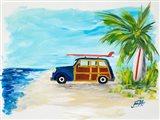 Tropical Vacation I Art Print