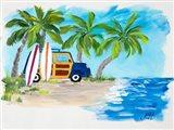 Tropical Vacation II Art Print