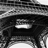 Eiffel Views Square III Art Print
