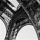 Eiffel Views Square II Art Print