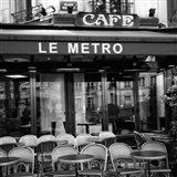 Paris Scene II Art Print