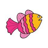 Whimsical Sea Creatures I Art Print