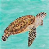 Sea Turtle I Art Print