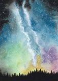 Magical Night Sky Art Print