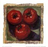 Three Tomatoes Art Print