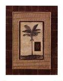 Safari Palm II Art Print
