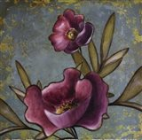 Purple Poppies Art Print