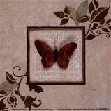 Butterfly Study I Art Print