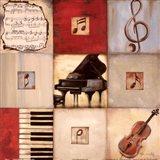Feel the Music II Art Print