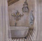 Crystal Bath I Art Print