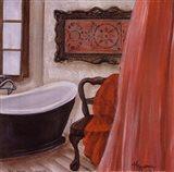 Antique Bath I Art Print