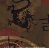 Asian Shield I Art Print