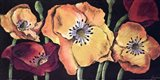 Dazzlin poppies II Art Print