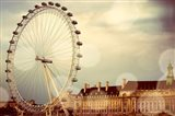 London Ferris Wheel Art Print